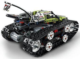 Avis bolide sur chenilles télécommandé Lego Technic 42065