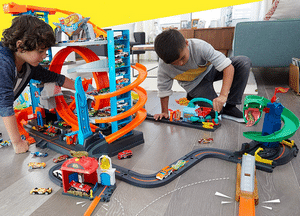 Test complet du garage ultime hot wheels